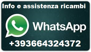 whatsapp info assistenza ricambi